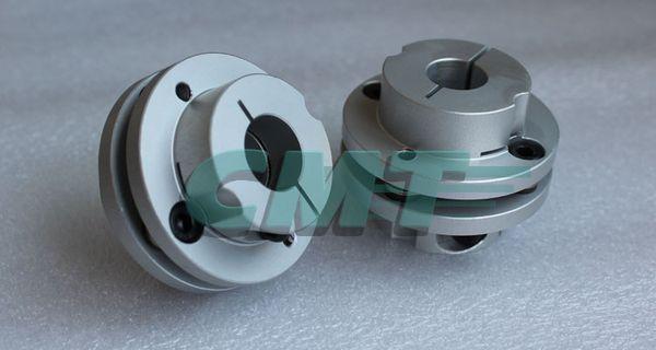 New Frame Model Aluminum alloys Single Diaphragm coupling Fit servo and stepper motor shaft-coupler D=56 L=45 D1&D2 at 10-20mm