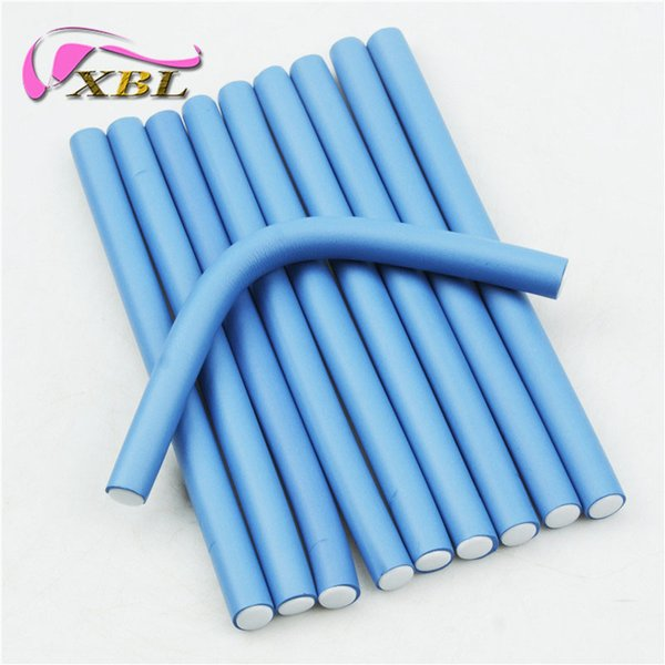 1.8cm Width Hair Curling Rollers Flexi Rods Magic Air Hair Roller Curler Bendy Magic Styling Hair Sticks 10pieces/lot