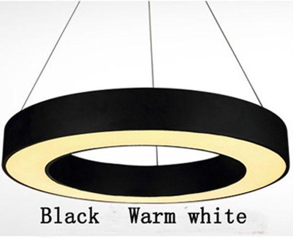 Black Warm white