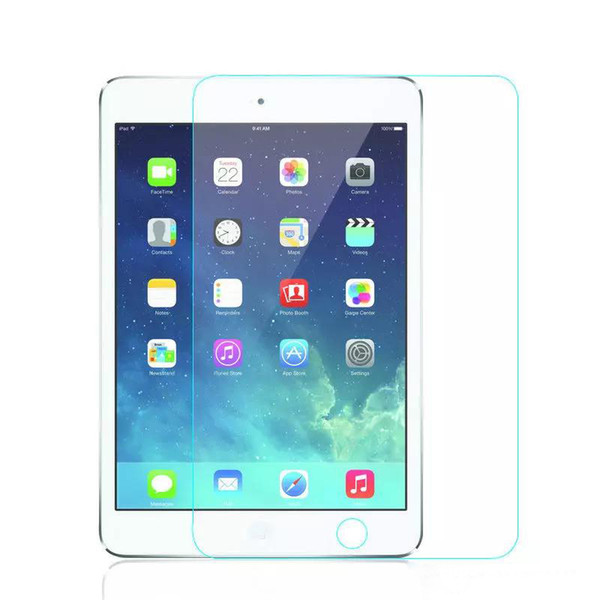 9H Premium Tempered Glass Screen Protector Film For New iPad 2017 4 5 6 Air Air2 Mini MINI4 Pro 9.7 10.5