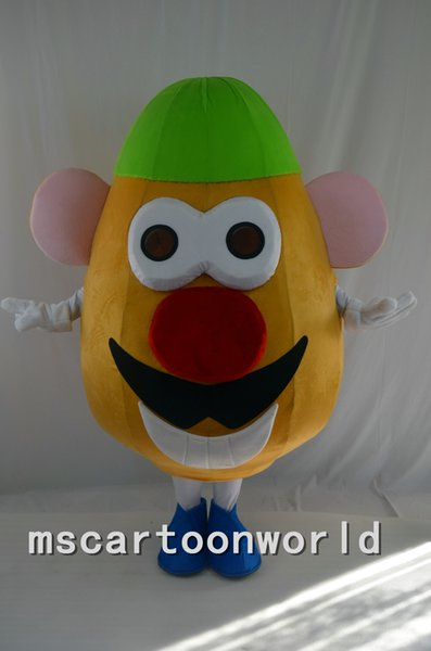 2016 the high quality new adult size mr potato head mascot cartoon costume christmas halloween