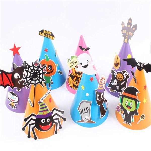 2018 halloween props cartoon party supplies baby cartoon hats