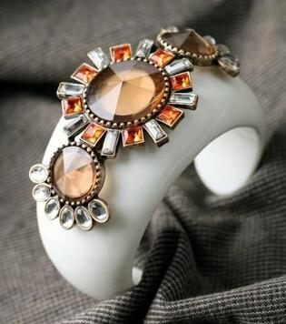 Blanc Cristal Fleurs Femmes Bracelet Style Européen Petite Amie Cadeau Vente Chaude Femmes Bijoux En Gros DHL Livraison Gratuite
