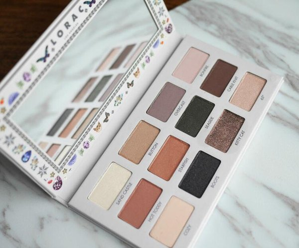 IN stock now !Lorac California Dreaming Eyeshadow palette 12 colors make up Top quality Free shipping