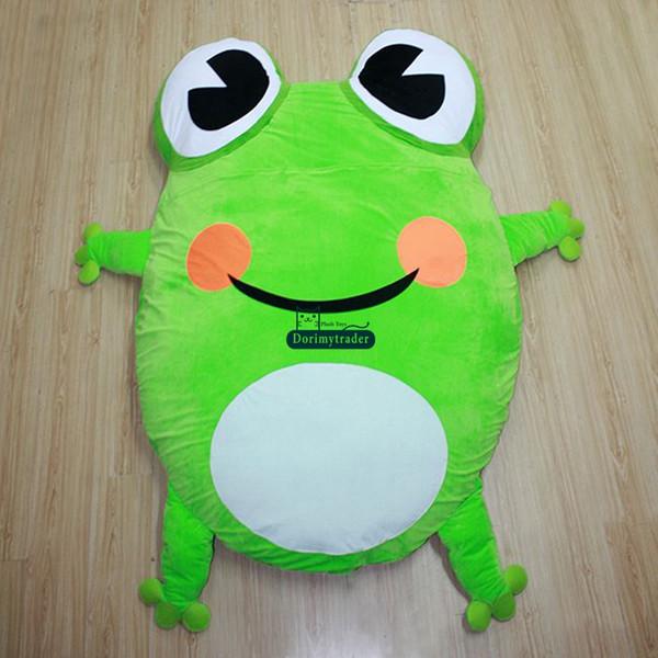 Großhandel Dorimytrader Cartoon Frosch Plüsch Bett Riesen weiche