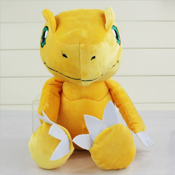 Anime Digimon Adventure YAGAMI TAICHI Agumon Plush Toys Soft Stuffed Dolls Kids Gift free shipping New whoesale