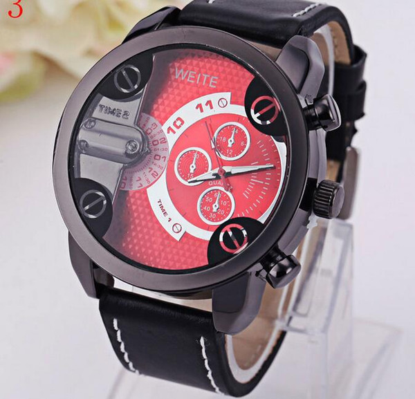 product quartz calendar weite casual luxury genuine men fashion leather watches watch brand date business automatic