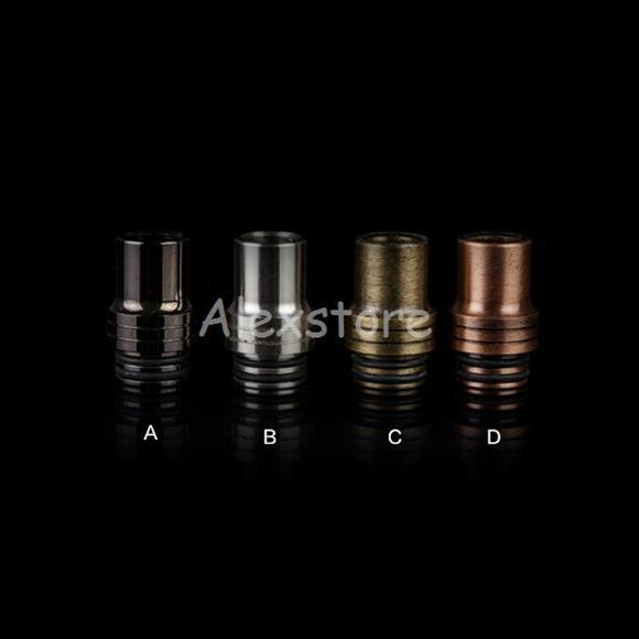 SS Stainless Steel 510 Mouthpiece 4 Colors Drip tip fit Aspire Atlantis 2 Tank Mega v2 RDA RBA Atlantis 2.0 Atomizer DHL