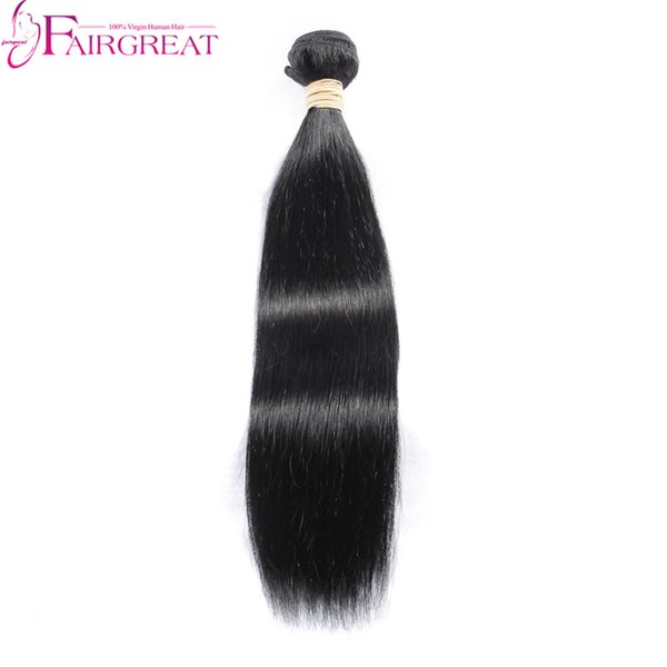 Unprocessed Human Malaysian Hair Bundles Straight Hair Wave Hair Extensions 1pc Lot No Shedding Tangle Free Natural Color Hair