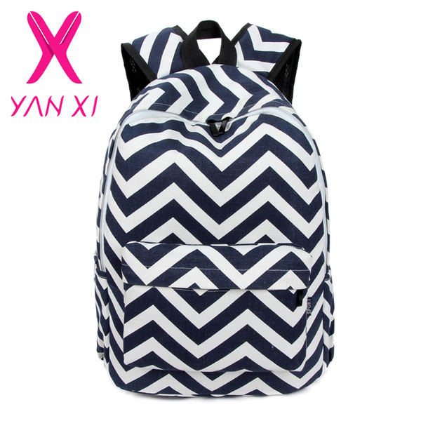 ed54bb374b Wholesale-NEW 2016 Youth girl schoolbag preppy striped female shoulder bag  mochilas escolares femininas high