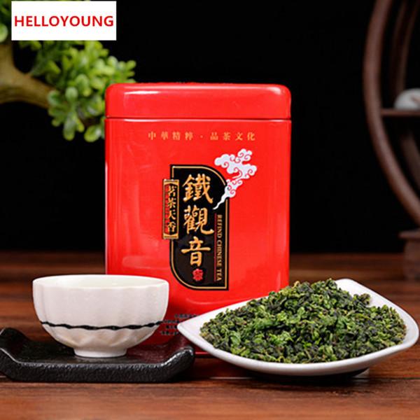 250g orgánico chino del té Oolong Anxi lazo Guan Yin verde Health Care Nueva Primavera té verde de alimentos de regalo del paquete