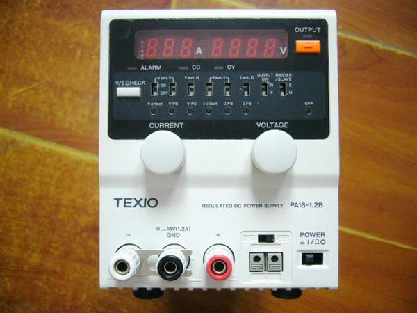 TEXIO PA18-1.2B 0-18V 0-1.2A Power supply