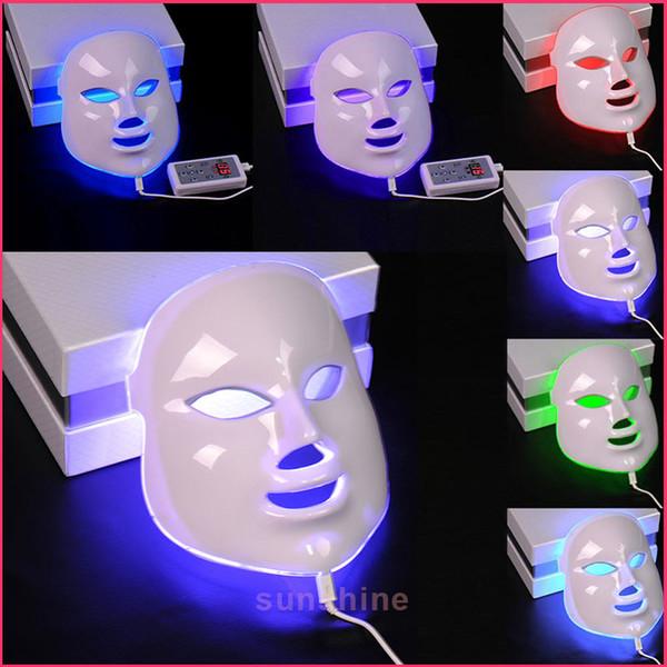 hot selling PDT 7 Color LED Facial Mask light photon therapy Photon LED skin rejuvenation beauty facial machine
