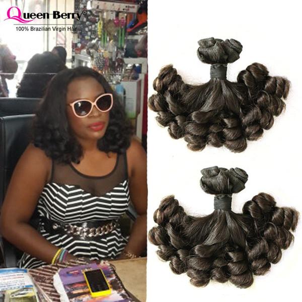 10a Grade Funmi Hair Double Drawn 2bundles Unprocessed Aunty Funmi