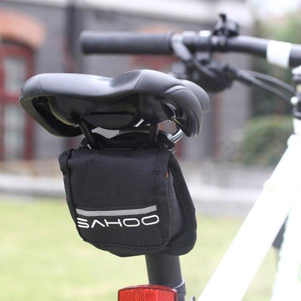 Yeni Varış Dağ Yolu MTB Bisiklet Bisiklet Lastik Lastik Tamir Kiti Bisiklet Araçları Set Yama Lastik Çanta Siyah / Kırmızı