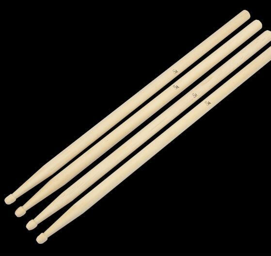 top popular Pair of 5A Drumsticks   drumsticks Maple Stick for Drum Set Lightweight Professional drum accessories parts classical 2019