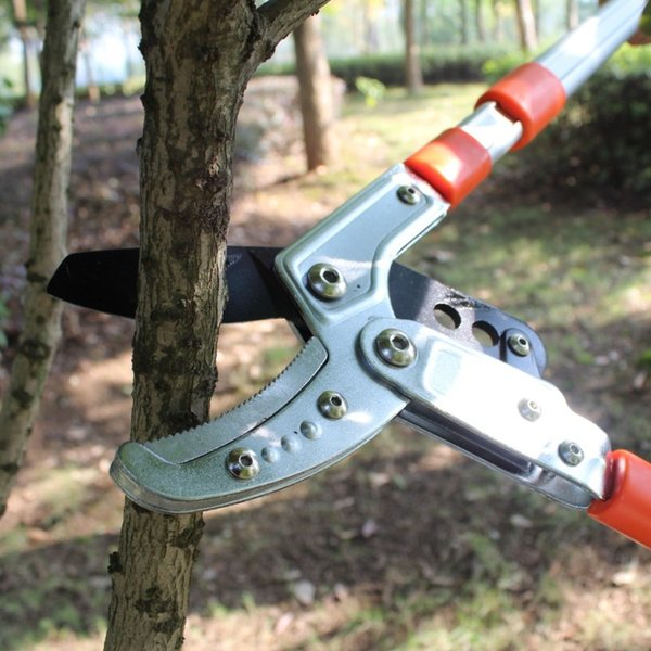 2017 Gardening tools garden scissors pruning hercules asperata telescopic scissors pruning knife fruit tree scalable scissors free shipping