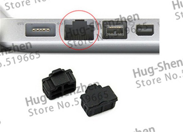 1000pcs/lot wholesale RJ45 dust plug /dust cover for laptop/computer/Router with free shipping