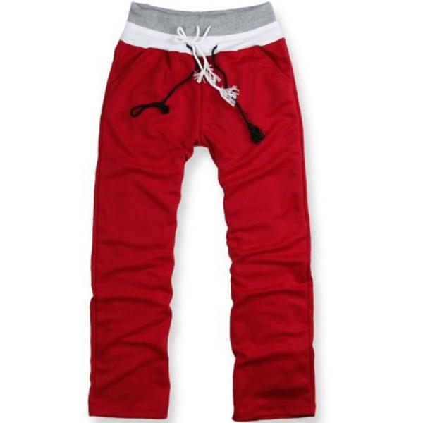 Toptan-Yeni stil 2016 moda Rahat erkek pantolon Dans hip hop spor harem kargo pantolon ter joggers, pamuk pantolon 50519003A
