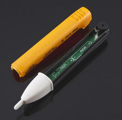 Chegam novas Parede Soquete AC Power Outlet Tensão Detector Sensor Tester Caneta de Teste Elétrico LEVOU Indicador de Tensão de Luz 90-1000 V