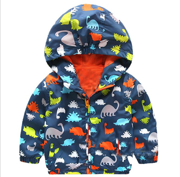 top popular spring autumn boy outwear outfit Hoodies Dinosaur design clothing kids jacket children Cardigan tench coats 2-7 years 1pc pack CQZ024 2019