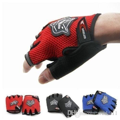 Men & Women Sports Gym Glove for Fitness Training Exercise Body Building Workout Weight Lifting Gloves Half Finger