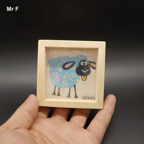Cute Sheep Pattern Children Wooden Balance Game Maze Toys Kids Educational Game Baby Gift Teaching Toy Fun Gift Game Kid