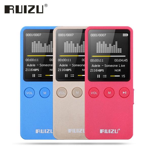 RUIZU X08 Mini Sport MP3 Music Player HIFI Lossless Voice Recorder Flac MP 3 Player 8G 1.8 Inche Screen Radio FM Reproductor MP3