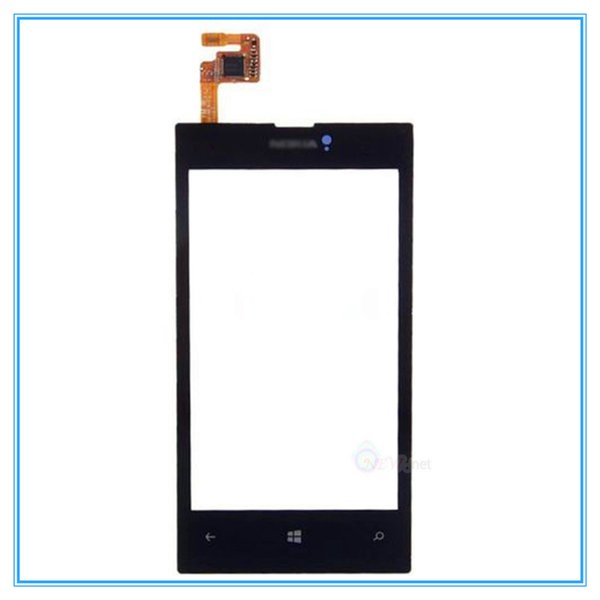 Touch Screen Digitizer For Nokia Lumia 520 N520 High Quality New Touch Panel Glass Lens Black with Frame Assembly Free Shipping