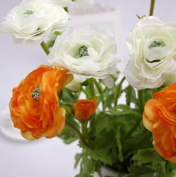 Rose Artificial Flowers Silk cloth For wedding Home Design flower Bouquet Decoration Products Supply free shipping HR017