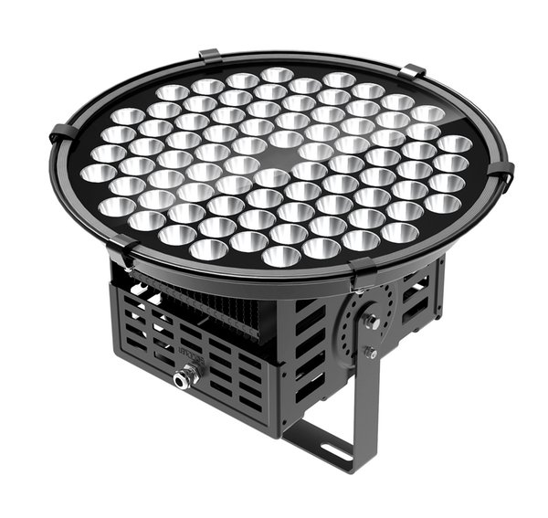 Top quality 250w waterproof outdoor led lighting high bay flood light waterproof projection light with 3D heat dissipation FIN housing