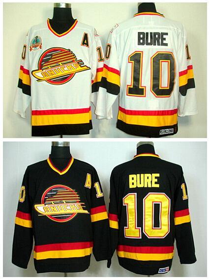 d1ec5537 2019 Cheap Ice Hockey 10 Pavel Bure Jerseys Vancouver Canucks Road ...