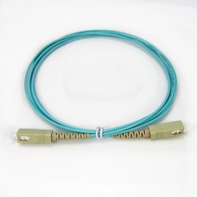 SC-SC OM3 PVC Optical Fiber Patch Cord SX Simplex MM Multi Mode 2.0mm 1M/3M/5M/10M/15M/20M