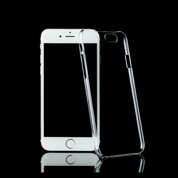 iphone 11 Pro Max X XR XS 8 7 artı Ultra ince Crystal Clear Şeffaf PC Hard Case Samsung S10 Plastik İçin Sheild etkilerden koruyan İçin