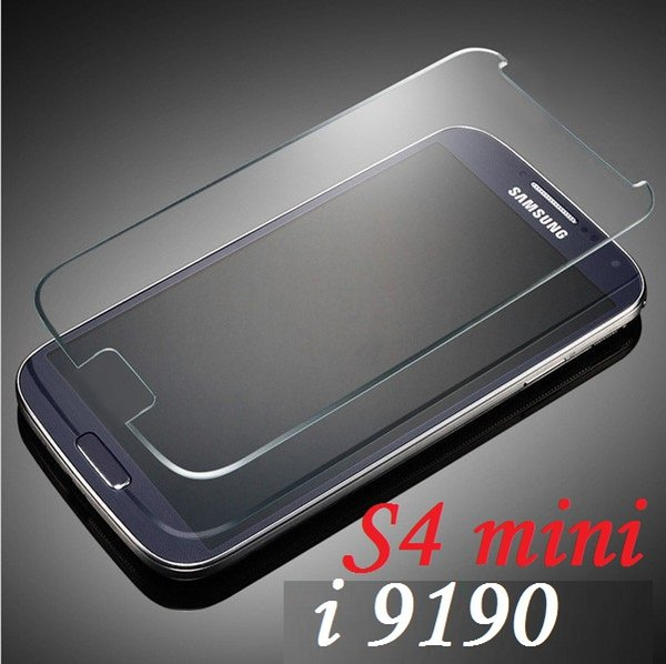 200pcs Explosion-proof Tempered Glass Film Screen Protector for Samsung Galaxy S4 mini i9190 free shipping