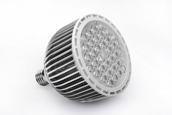 Yüzgeçleri kabuk LENS KAPAK E40 PAR56 36 w 36 * 1 w led par ışık / led par56 lamba ampul, led spot