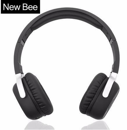 New Bee Bluetooth-Kopfhörer Bluetooth-Headset Drahtlose Kopfhörer Sport-Kopfhörer für iPhone Android Phone Smartphone-Tisch-PC