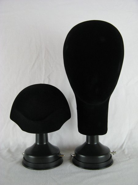 Upscale Suction-cup Wig Stand Hairpiece Substrate Mannequin Head Suction-cup Pedestal Wig Foundation Model Heads Necklace & Hat Holder