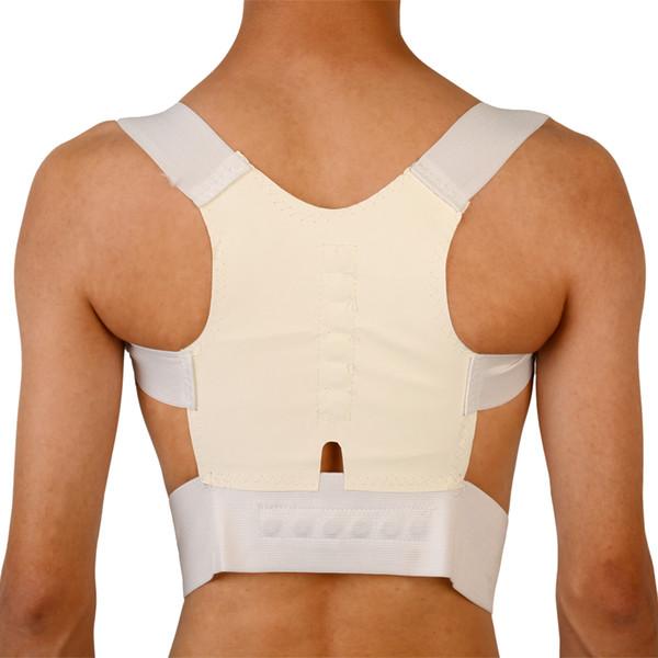 Back houlder po ture corrector back upport traighten out brace belt orthopaedic adju table gift health