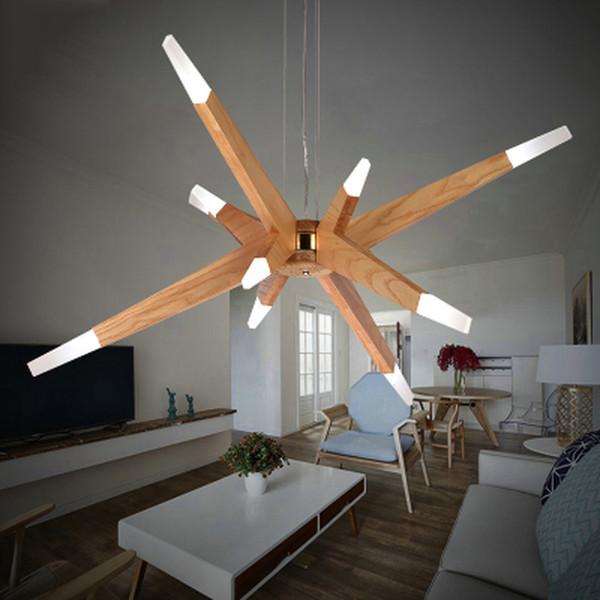 Creative Zeitgenossische LED Deckenleuchte Acryl Lampe Schirm Unregelmassige Figur Form Wohnzimmer Schlafzimmer Dimmbar