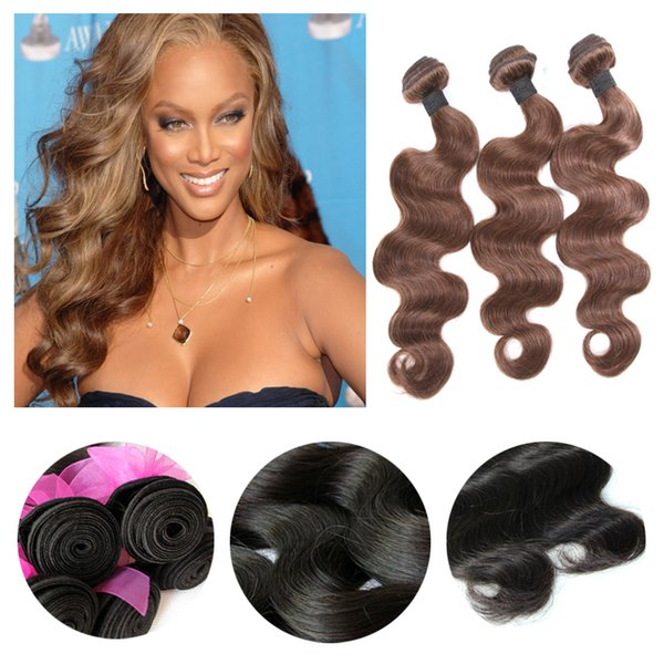 9a Brazilian Malaysian Virgin Human Hair Extensions Unprocessed Hair