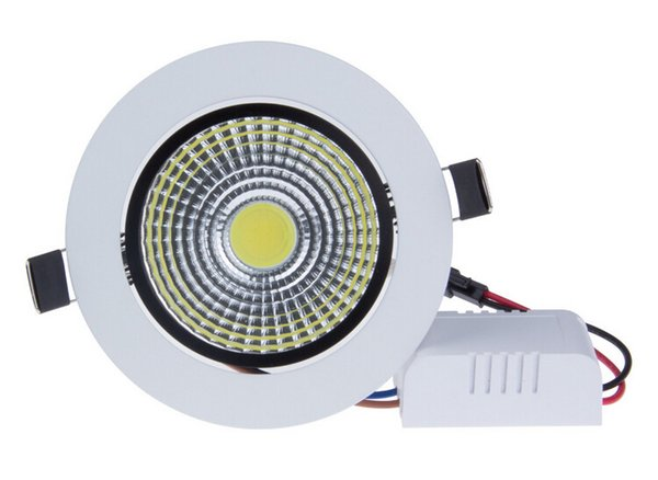 7W/12W LED Down light COB Dimmable LED Recessed ceiling downlights Warm white/Pure white/cold white Lamp For Home Lighting Decorate CE/ROHS