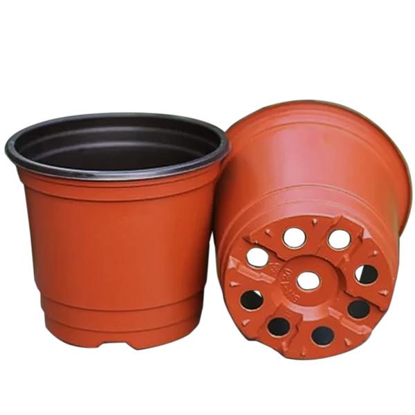 1000 PCS Double Color Plastic Garden Flower Pot Mini Flowerpot Home Garden Planter Pot Unbreakable Plastic Nursery Pots