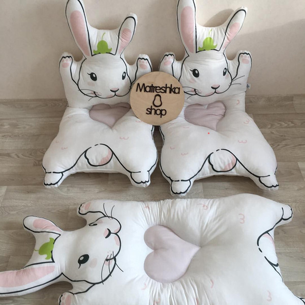 best selling INS NEW Fashion Baby mat roxymarj style Newborn 3D rabbit bear pattern lovely Crawling CarpetCamera background, Children's room decoration