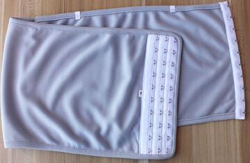 Plus Size Super Liso Les GL Peito Lésbico Peito Fichário Tomboy Slim Fit Colete S ~ 4XL frete grátis