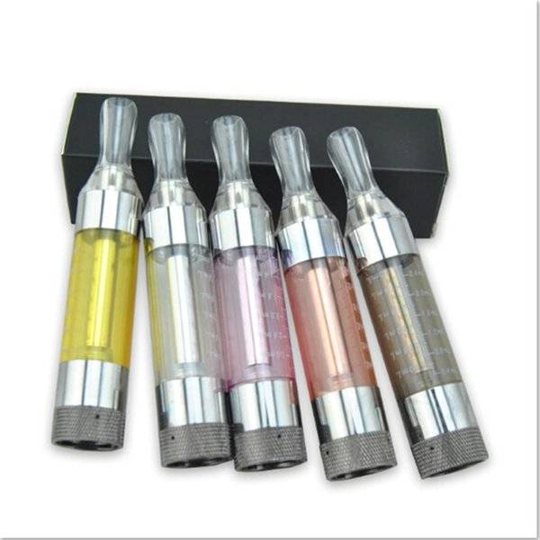 Top quality t3s clearomizers E Cigarette 3ml Kanger t3s atomizers tanks with t3s coils for vision spinner 2 evod e cigarette starter kits.