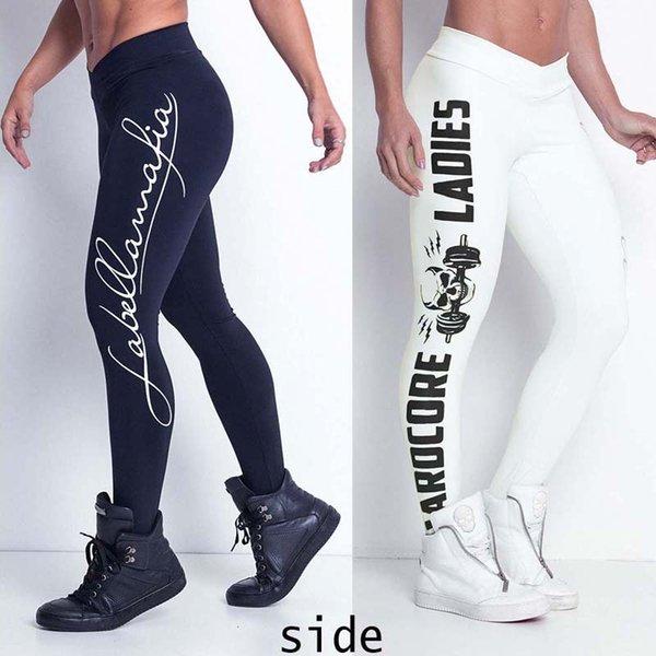 Yeni Seksi Bayan Bayanlar Spor Yoga Koşu Spor Tayt Spor Pantolon Atletik Pantolon 2 Renk 4 Boyutu