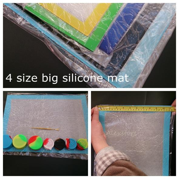 Silicone wax pads dry herb mats large square mat dabber big sheets jars dab tool 28*38cm 42.2*28cm for silicon dabber containers DHL