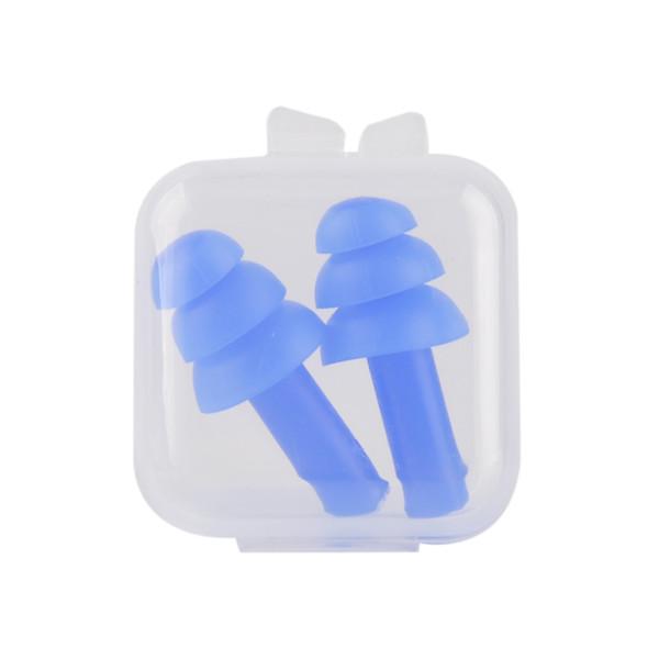 Tappi per le orecchie in schiuma morbida Isolamento acustico Tappi per le orecchie Protezione anti-rumore Tappi per dormire per schiuma da viaggio Soft Noise Reduction 2 pz / set 0613029