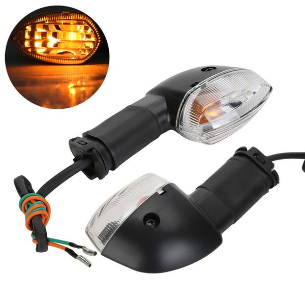 best selling Amber Turn Signal Light Indicator Blinker Lens For YAMAHA YZF R1 R6 FZ1 FZ6 New